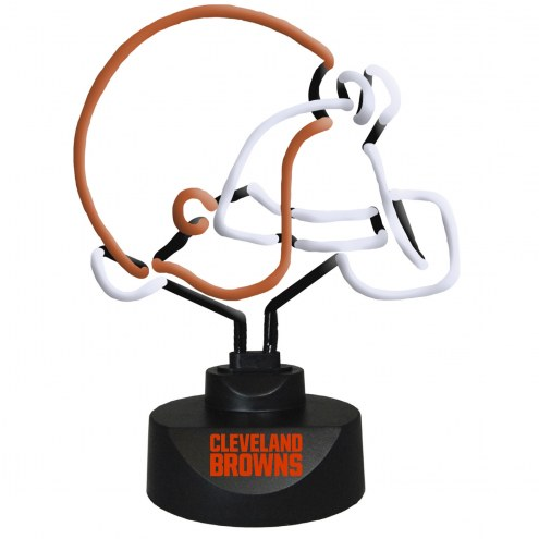 Cleveland Browns Team Logo Neon Lamp