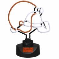 Cleveland Browns Team Logo Neon Lamp