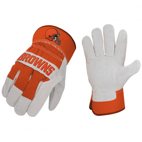 Cleveland Browns The Closer Work Gloves