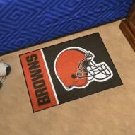 Cleveland Browns Uniform Inspired Starter Rug
