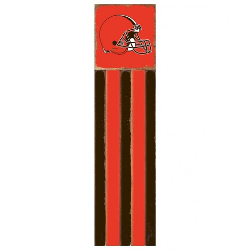 Cleveland Browns Vertical Flag Wall Sign
