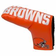 Cleveland Browns Vintage Golf Blade Putter Cover