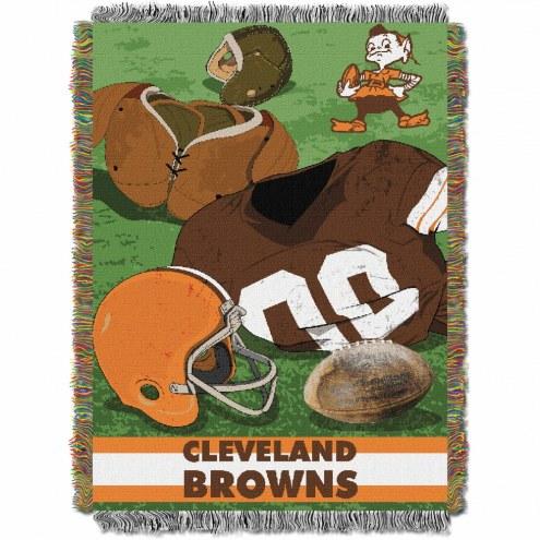 Cleveland Browns Vintage Throw Blanket