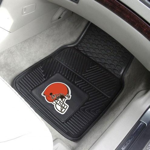 Cleveland Browns Vinyl 2-Piece Car Floor Mats
