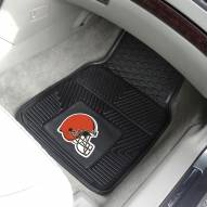 Cleveland Browns Vinyl 2-Piece Car Floor Mats