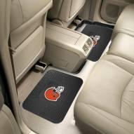 Cleveland Browns Vinyl 2-Piece Rear Floor Mats