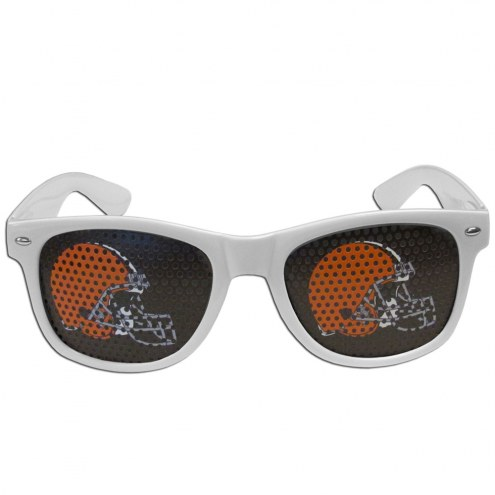 Cleveland Browns White Game Day Shades
