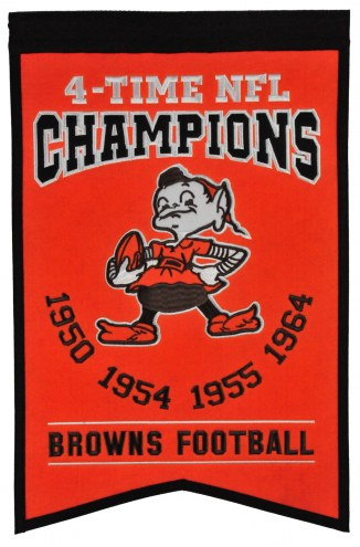 Cleveland Browns Champs Banner