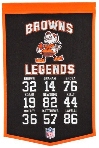 Cleveland Browns Legends Banner