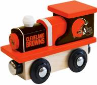 Cleveland Browns Wood Toy Train