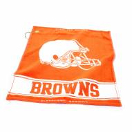 Cleveland Browns Woven Golf Towel
