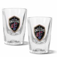 Cleveland Cavaliers 2 oz. Prism Shot Glass Set
