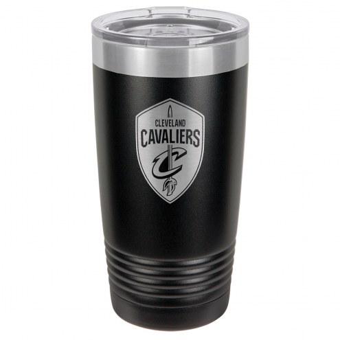 Cleveland Cavaliers 20 oz. Black Stainless Steel Polar Tumbler