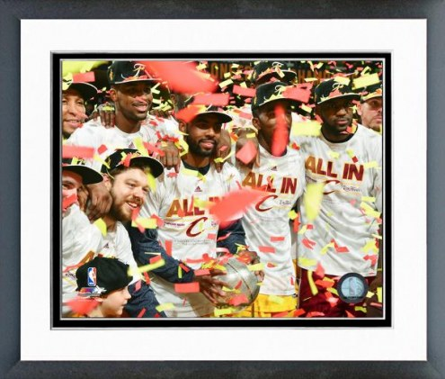 Cleveland Cavaliers Eastern Conference Finals Framed Photo