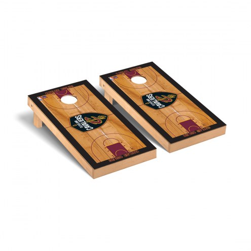 Cleveland Cavaliers Basketball Court Cornhole Game Set