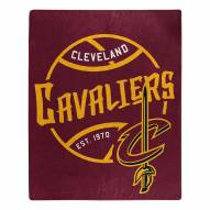 Cleveland Cavaliers Blacktop Raschel Throw Blanket