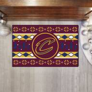 Cleveland Cavaliers Christmas Sweater Starter Rug