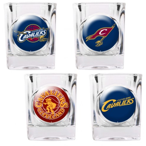 Cleveland Cavaliers Collector's Shot Glass Set