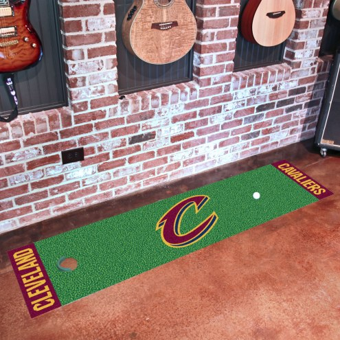 Cleveland Cavaliers Golf Putting Green Mat