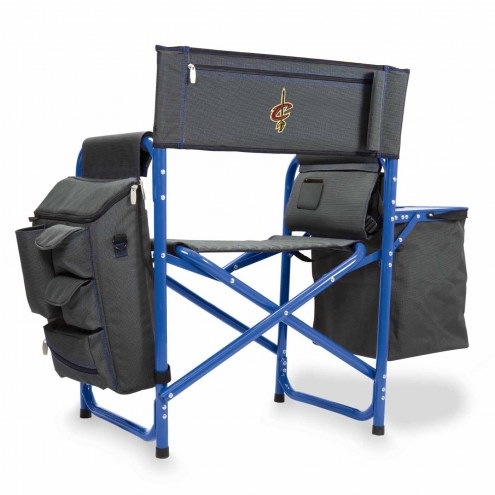 Cleveland Cavaliers Gray/Blue Fusion Folding Chair