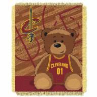 Cleveland Cavaliers Half Court Baby Blanket