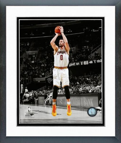 Cleveland Cavaliers Kevin Love Spotlight Action Framed Photo