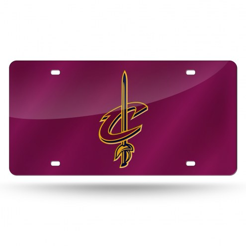 Cleveland Cavaliers Laser Cut License Plate
