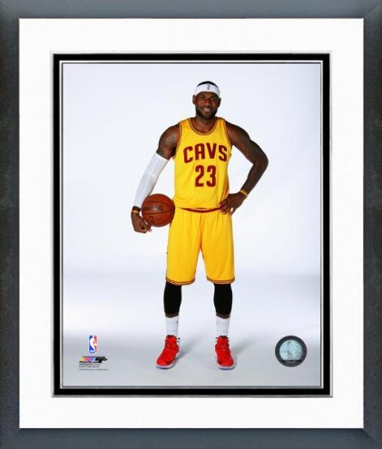 Cleveland Cavaliers LeBron James Posed Framed Photo