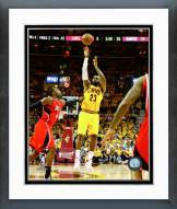 Cleveland Cavaliers LeBron James 2015 Eastern Conference Finals Framed Photo