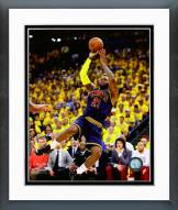 Cleveland Cavaliers LeBron James Game 2 of the 2015 NBA Finals Framed Photo