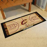 Cleveland Cavaliers NBA Court Large Runner