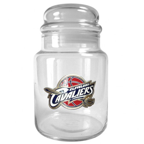 Cleveland Cavaliers NBA 31 Oz Glass Candy Jar