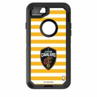 Cleveland Cavaliers OtterBox iPhone 8/7 Defender Stripes Case