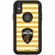 Cleveland Cavaliers OtterBox iPhone X/Xs Defender Stripes Case