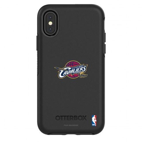 Cleveland Cavaliers OtterBox iPhone X/Xs Symmetry Black Case