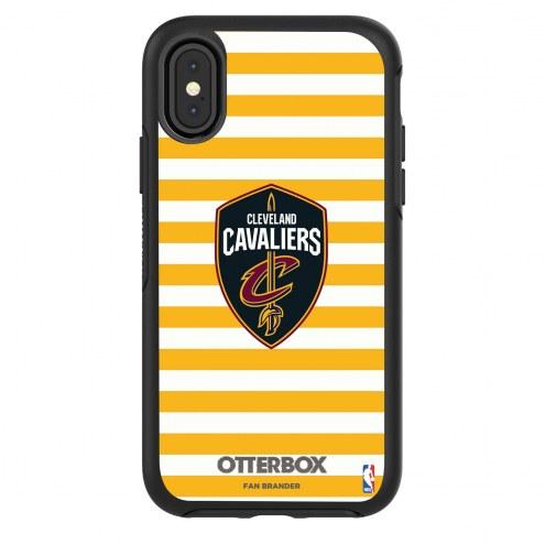 Cleveland Cavaliers OtterBox iPhone X/Xs Symmetry Stripes Case