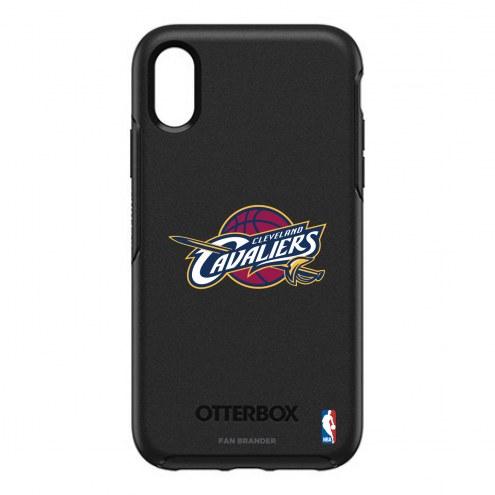 Cleveland Cavaliers OtterBox iPhone XR Symmetry Black Case