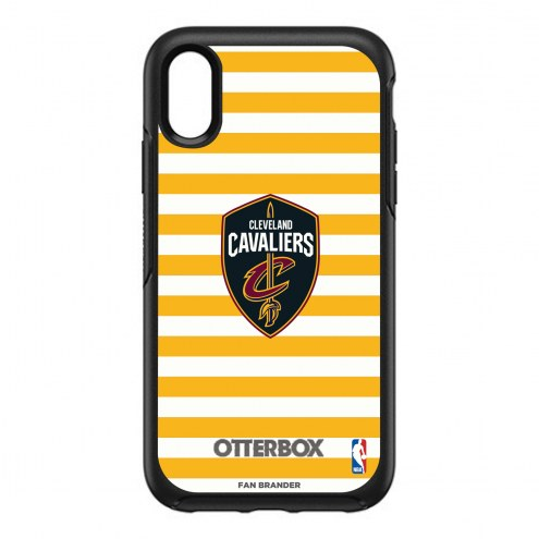 Cleveland Cavaliers OtterBox iPhone XR Symmetry Stripes Case