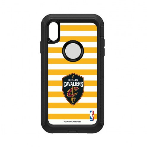 Cleveland Cavaliers OtterBox iPhone XS Max Defender Stripes Case