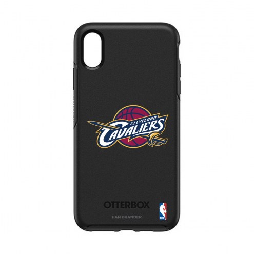 Cleveland Cavaliers OtterBox iPhone XS Max Symmetry Black Case