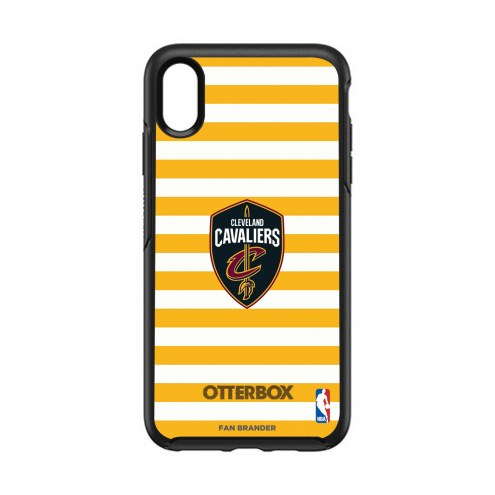 Cleveland Cavaliers OtterBox iPhone XS Max Symmetry Stripes Case