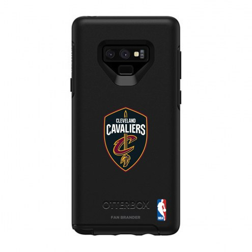 Cleveland Cavaliers OtterBox Samsung Galaxy Note9 Symmetry Black Case