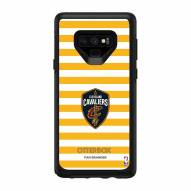 Cleveland Cavaliers OtterBox Samsung Galaxy Note9 Symmetry Stripes Case
