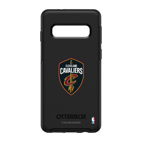 Cleveland Cavaliers OtterBox Samsung Galaxy S10 Symmetry Black Case