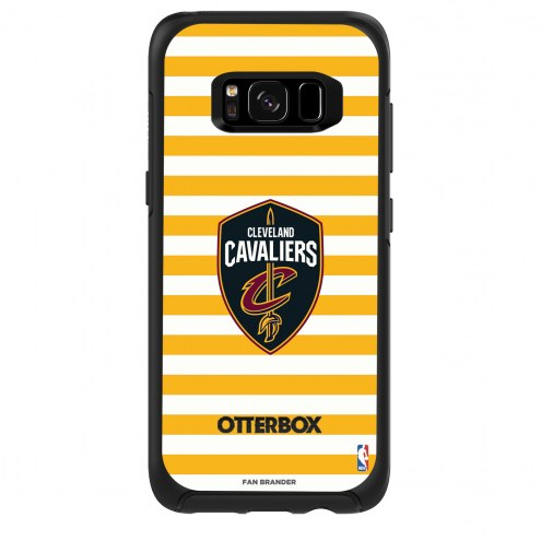 Cleveland Cavaliers OtterBox Samsung Galaxy S8 Symmetry Stripes Case