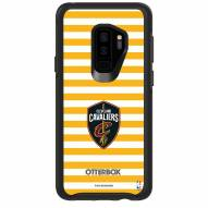 Cleveland Cavaliers OtterBox Samsung Galaxy S9+ Symmetry Stripes Case