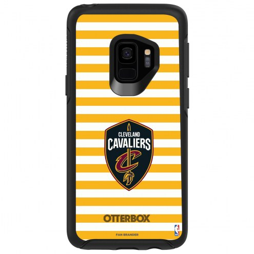 Cleveland Cavaliers OtterBox Samsung Galaxy S9 Symmetry Stripes Case