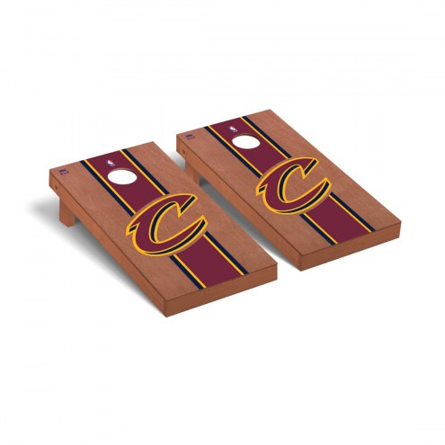 Cleveland Cavaliers Rosewood Stained Cornhole Game Set