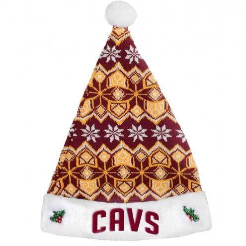 Cleveland Cavaliers Santa Hat