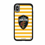 Cleveland Cavaliers Speck iPhone X Presidio Stripes Case